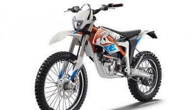 KTM entra de lleno al mercado de las motos eléctricas con la Freeride. (...