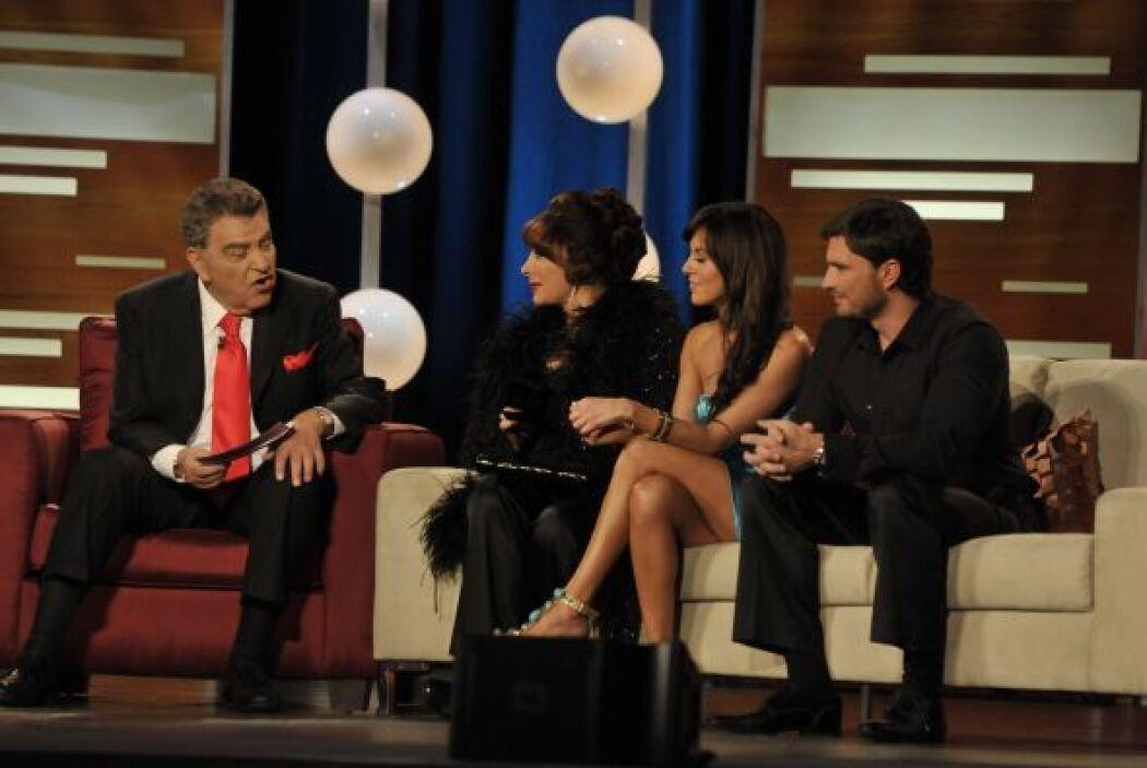 Sin embargo Julián Gil aceptó que a él le gustó su papel de travieso, pe...
