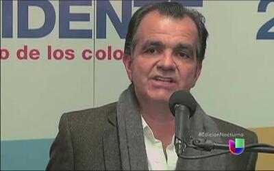 A unas horas de las elecciones en Colombia, Óscar Iván Zuluaga ataca a J...