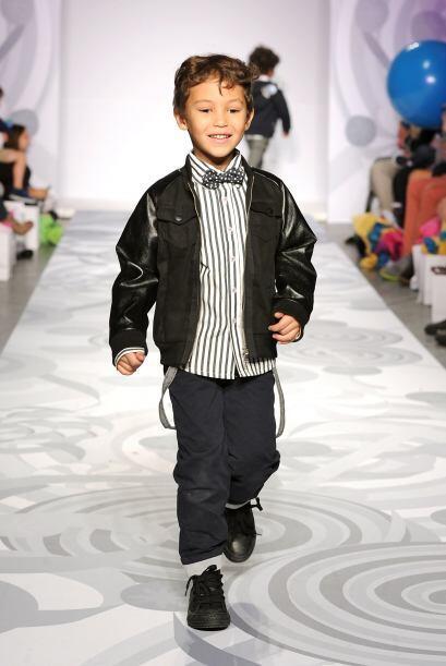¿Quién dice que los niños no pueden estar a la moda...