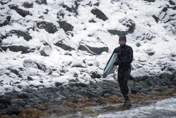 """El fotógrafo también comentó: """"En Alaska vemos much..."""
