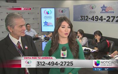 Univision Chicago te ayuda a registrarte para votar