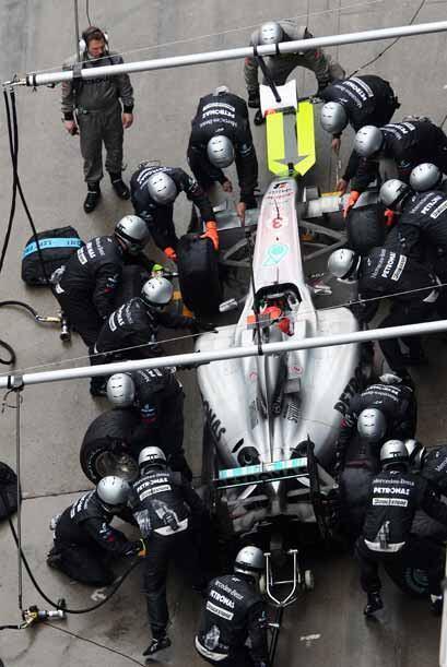El ex campeón Michael Schumacher tuvo otra actuación decep...