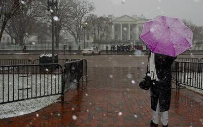Nieve poco antes de iniciar el verano con Jackie Guerrido