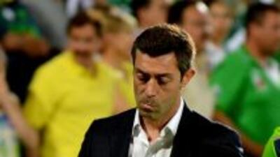 El DT de Santos reconoció que Lanús fue mejor en los octavos de la Liber...