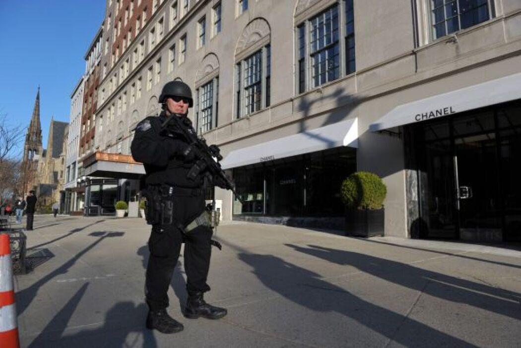 En tanto, los cuerpos policiacos de Estados Unidos reforzaron la segurid...
