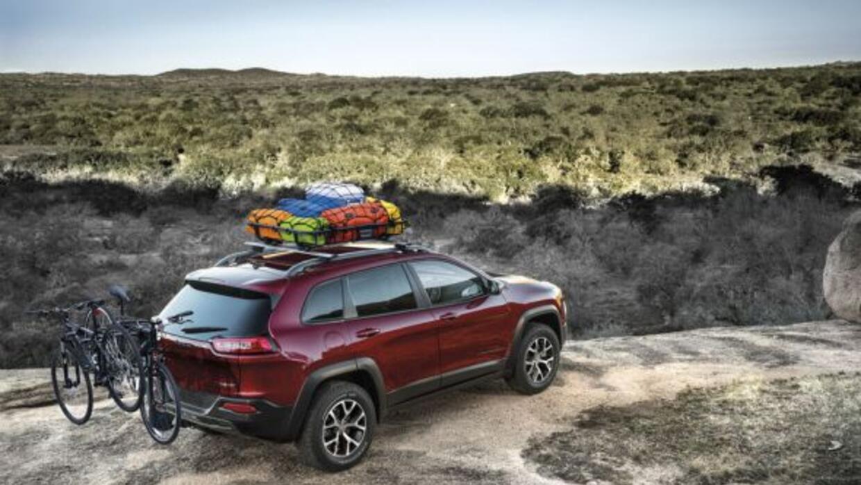 Mopar ha diseñado accesorios específicos para la nueva Jeep Cherokee.