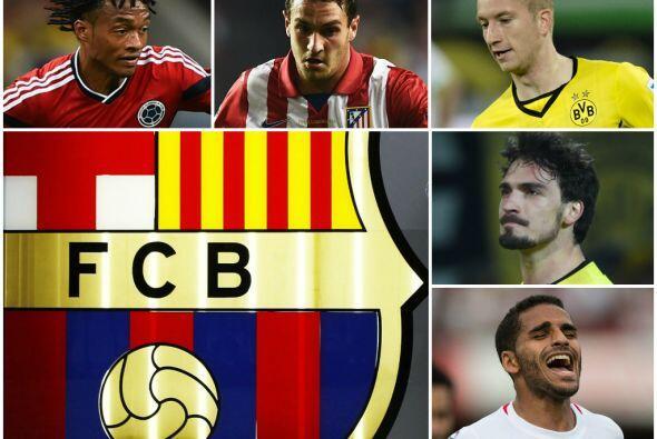 Las compras de pánico del Barça se enfocarían en fu...