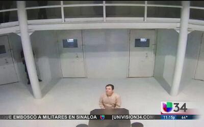 """'El Chapo' afirma que se está """"volviendo loco"""""""