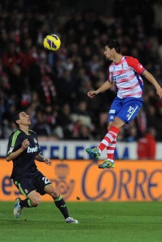 En la jugada previa al gol Nolito estuvo a punto de marcar de cabeza, pe...