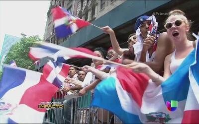 Grandes estrellas en el desfile dominicano en Nueva York