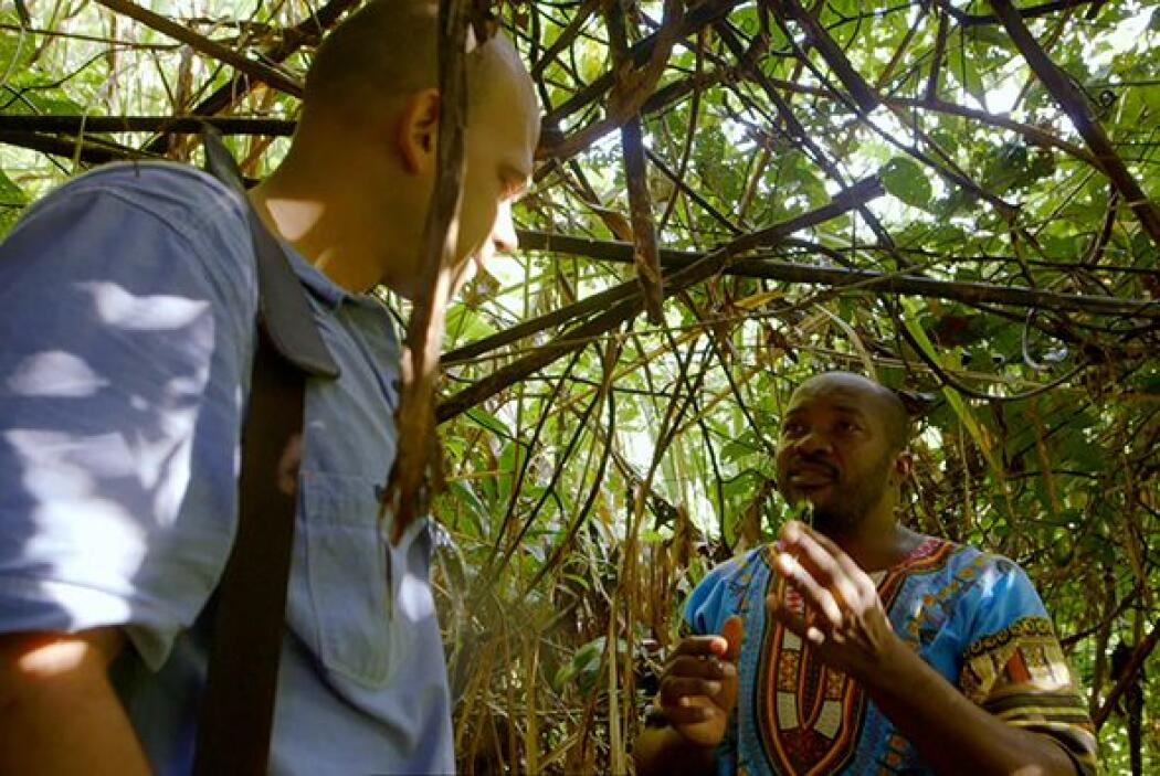 Sánchez condujo al doctor Juan hacia la jungla donde le identificó algun...