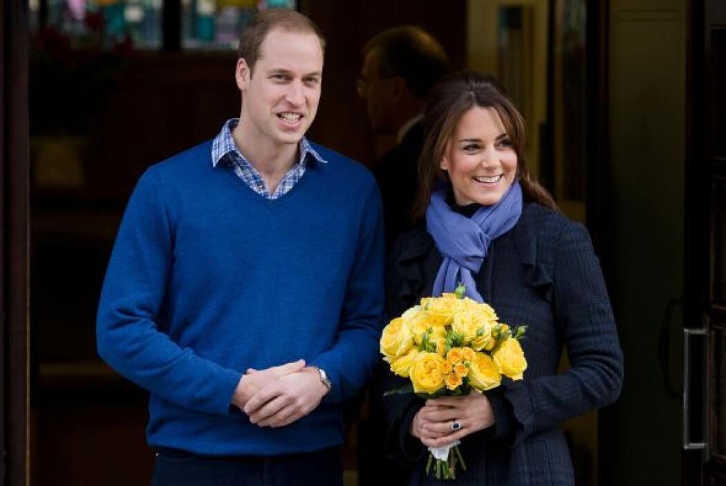 El pasado mes de diciembre la duquesa de Cambridge y su esposo, el prínc...