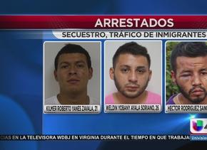 Caen presuntos traficantes de inmigrantes