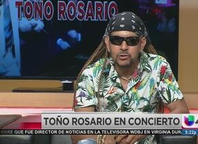 El merenguero Toño Rosario en Houston
