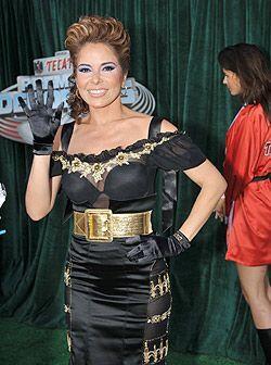 Gloria Trevi fue nominada como una de las más sexys en la alfombra de lo...