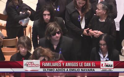 Dan el último adiós a Emilio Navaira