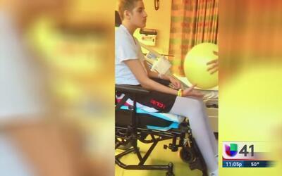 Joven de Long Island vive de milagro y es apoyado por la comunidad