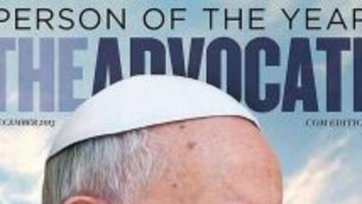 Revista gay elige al papa 'personaje del año'. (Foto tomada de Twitter)