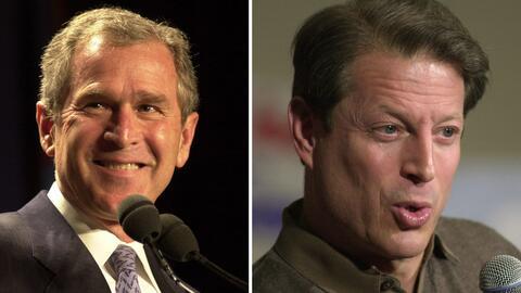 En noviembre de 2000 George W. Bush, el candidato republicano, gan&oacut...