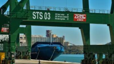 Mariel 'megapuerto' en Artemisa, Cuba, durante su inauguración el 27 de...
