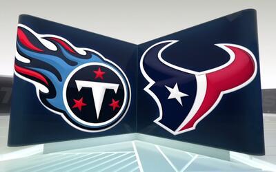 Un regreso de patada para TD le da la victoria a los Texans sobre Titans...