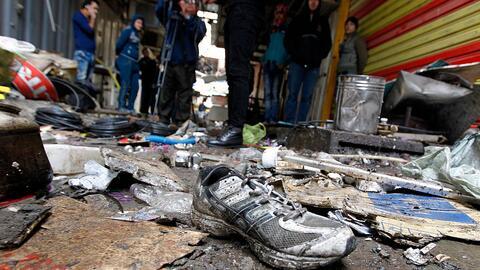 Irak acaba el año con otro atentado en pleno corazón de la...
