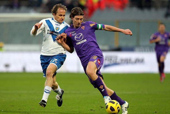 Fiorentina también protagonizó otro encuentro con varias a...