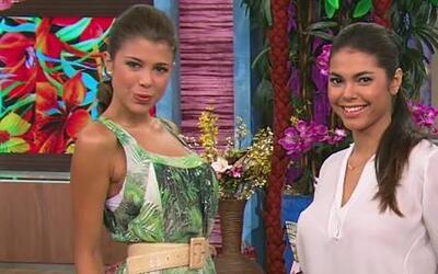 ¿Cómo usar estampados tropicales de una manera 'fashion' sin lucir muy c...