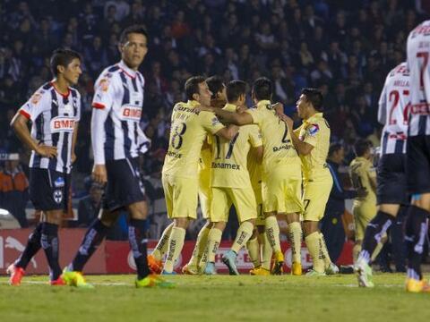 Con dos goles de Luis Ángel Mendoza y un autogol de Efraín...