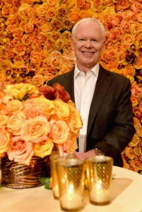 El florista Mark Held de MARK'S GARDEN será el responsable de la decorac...