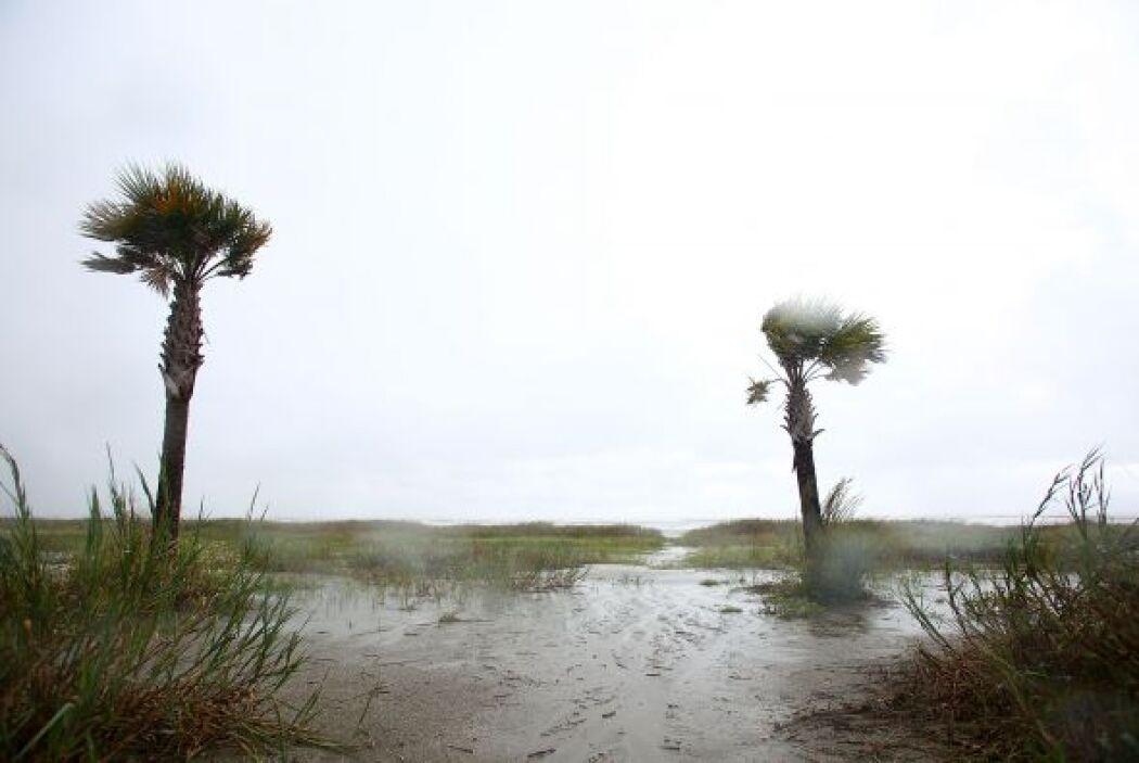 Las imágenes de residentes de la zonas bajas de la costa de Louisiana as...