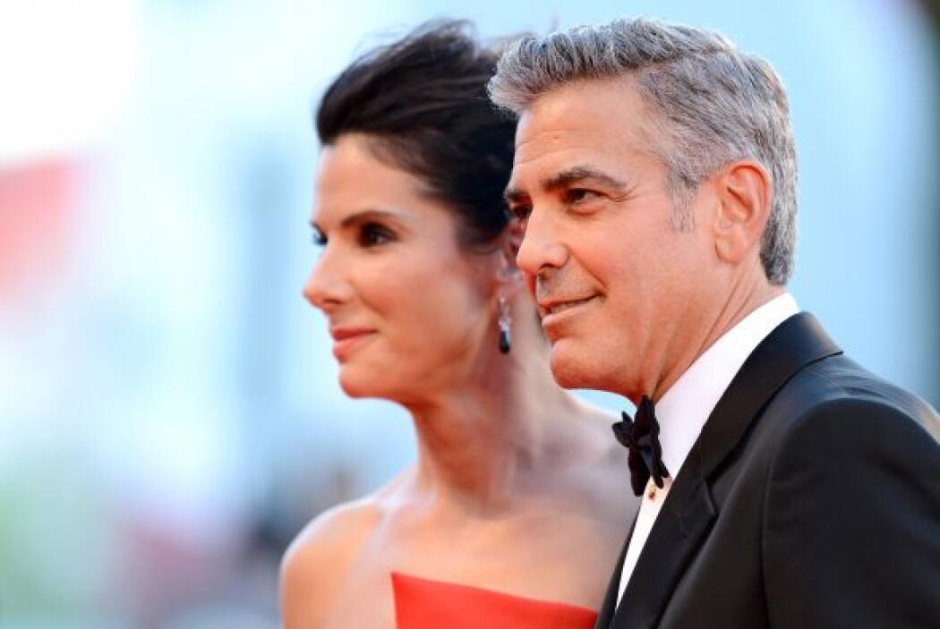 Sandra Bullock y George Clooney, una pareja de guapos..