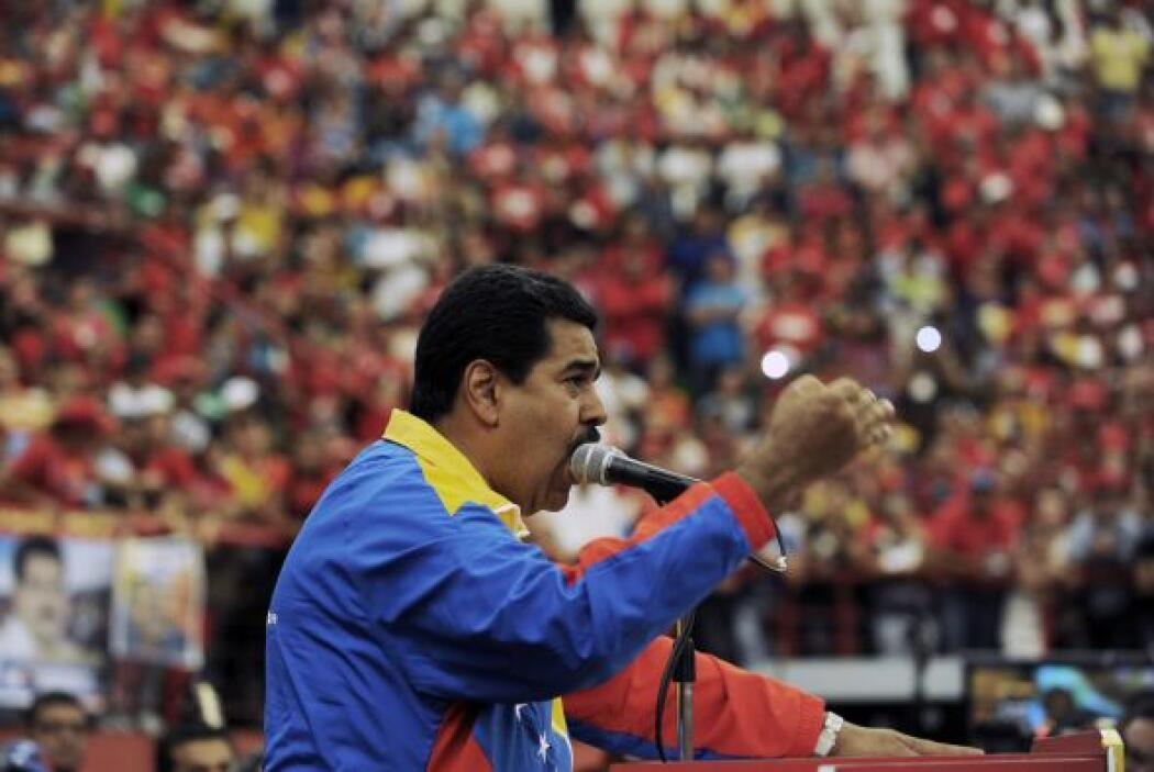 Además de Capriles, el presidente encargado, Nicolás Maduro, y otros cin...