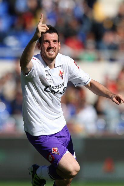 Pero el destino era más favorable a la Fiorentina, que con un gol de And...