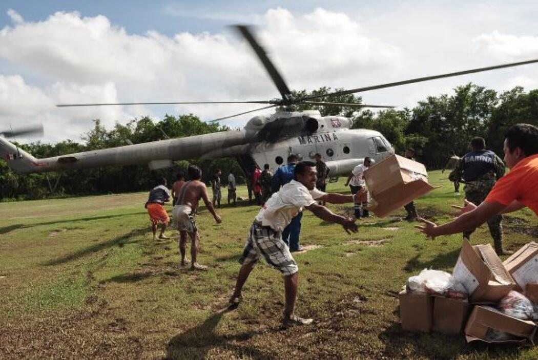 Varios estados han enviado distinto tipo de ayuda humanitaria, que va de...