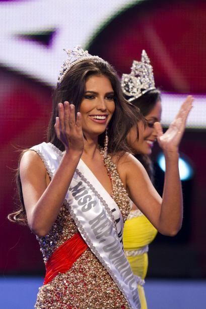 Durán será relevada por Dulcita Lieggi Francisco, la primera finalista d...