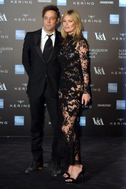 Otra modelo que no podía faltar es Kate Moss, la top británica número un...
