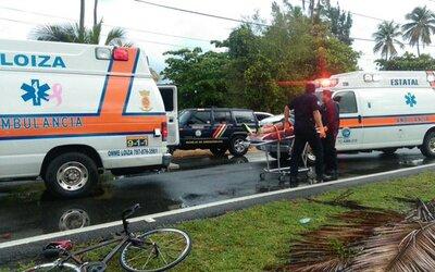 La conductora manejaba bajo los efectos del alcohol y perdió el control...