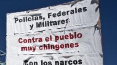Los ciudadanos de Ciudad Juárez está hartos de la violencia y es por eso...
