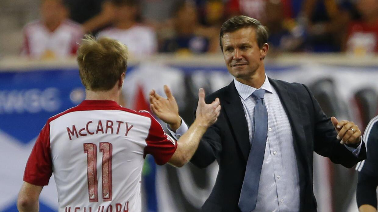 Jesse Marsch y Dax McCarty confían en New York Red Bulls.