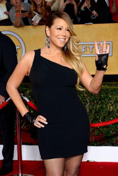 Mariah Carey, de 44 años, llegó al 'cuarto piso' cambiando pañales, de l...