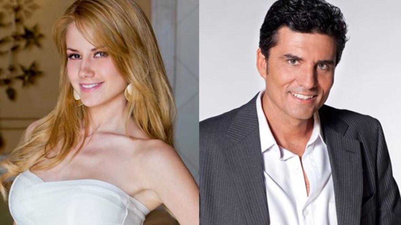 Altair Jarabo y Diego Olivera se integraron al elenco de la telenovela M...