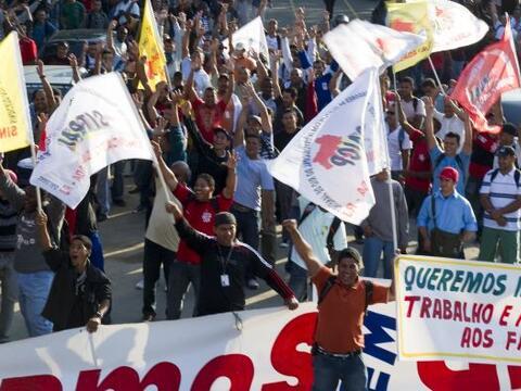 El estadio Maracaná de Rio de Janeiro, el mayor de Brasil y proba...