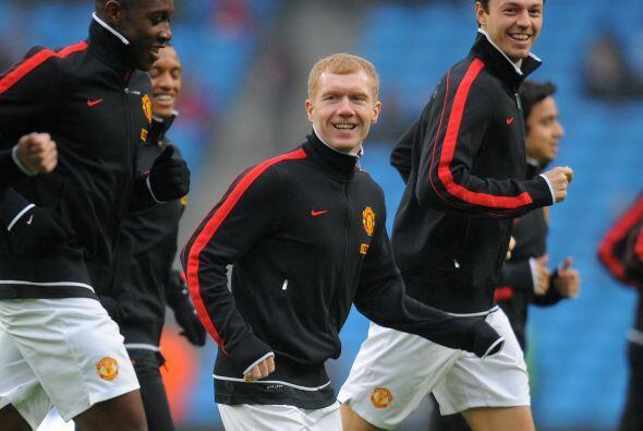 Manchester United se vio las caras con el Manchester City en duelo de la...