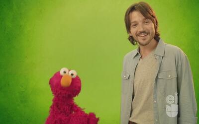 Elmo ayudó a Diego Luna a expresar sus emociones correctamente