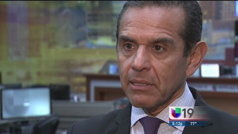 El ex alcalde de Los Ángeles busca ser gobernador de California