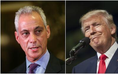 Con una carta el alcalde de Chicago solicitó a Donald Trump continuar co...