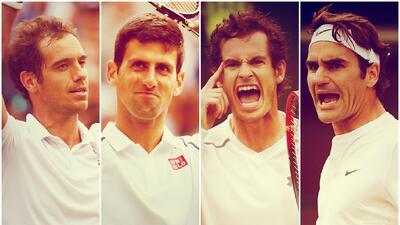 En 2012, Federer hizo llorar a Murray al vencerle en la final y conquist...