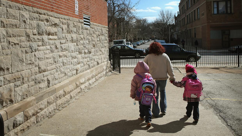 En el distrito 299 de Chicago, la mayoría de los alumnos son hispanos.